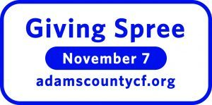 Make your donation go further at the Giving Spree on November 7!